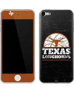 Texas Longhorns Distressed Basketball Apple iPod Skin