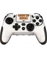 Texas Longhorns White Hook Em PlayStation Scuf Vantage 2 Controller Skin