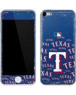 Texas Rangers - Cap Logo Blast Apple iPod Skin