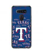 Texas Rangers - Cap Logo Blast LG K51/Q51 Clear Case