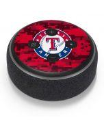 Texas Rangers Digi Camo Amazon Echo Dot Skin