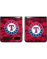 Texas Rangers Digi Camo Galaxy Z Flip Skin