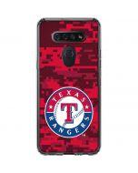 Texas Rangers Digi Camo LG K51/Q51 Clear Case