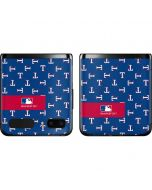 Texas Rangers Full Count Galaxy Z Flip Skin