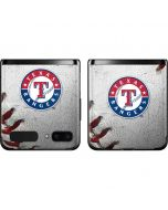 Texas Rangers Game Ball Galaxy Z Flip Skin