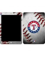 Texas Rangers Game Ball Apple iPad Skin