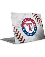 Texas Rangers Game Ball Apple MacBook Air Skin