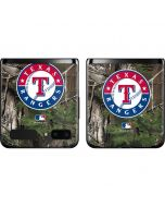 Texas Rangers Realtree Xtra Green Camo Galaxy Z Flip Skin