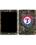 Texas Rangers Realtree Xtra Green Camo Apple iPad Skin