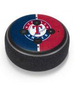 Texas Rangers Split Amazon Echo Dot Skin