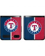 Texas Rangers Split Galaxy Z Flip Skin