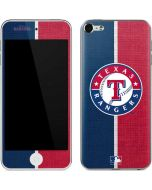 Texas Rangers Split Apple iPod Skin