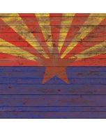 Arizona Flag Dark Wood Apple iPad Skin