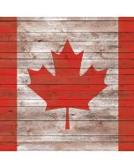 Canadian Flag Dark Wood Xbox One Elite Controller Skin