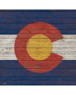 Colorado Flag Dark Wood PS4 Slim Bundle Skin