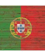 Portuguese Flag Dark Wood Apple iPad Skin