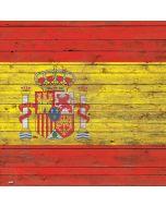 Spain Flag Dark Wood Apple iPad Skin