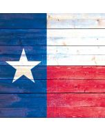 Texas Flag Light Wood Apple iPod Skin