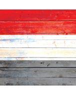 Yemen Flag Light Wood iPhone X Skin