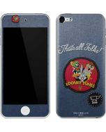 Thats All Folks Patch Apple iPod Skin
