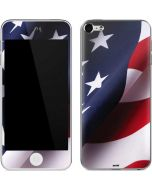 The American Flag Apple iPod Skin