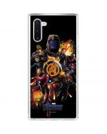 The Avengers Galaxy Note 10 Clear Case