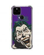 The Classic Joker Google Pixel 5 Clear Case