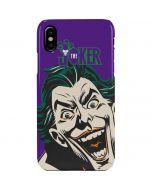 The Classic Joker iPhone XS Max Lite Case