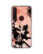The Defenders Daredevil Moto G8 Plus Clear Case