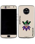 The Joker Calling Card Moto X4 Skin