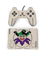 The Joker Calling Card PlayStation Classic Bundle Skin