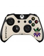 The Joker Calling Card Xbox One Controller Skin