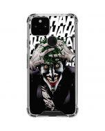 The Joker Insanity Google Pixel 5 Clear Case
