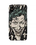 The Joker Laughing iPhone XS Max Lite Case