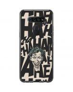 The Joker Laughing LG K51/Q51 Clear Case