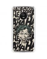 The Joker Laughing Moto G5 Plus Clear Case