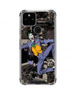 The Joker Mixed Media Google Pixel 5 Clear Case