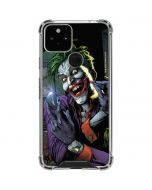 The Joker Put on a Smile Google Pixel 5 Clear Case