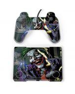 The Joker Put on a Smile PlayStation Classic Bundle Skin