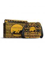 The Lion King Tribal Print Nintendo Switch Bundle Skin