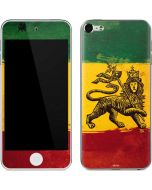 The Lion of Judah Rasta Flag Apple iPod Skin