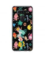 The Mad Hatter LG K51/Q51 Clear Case