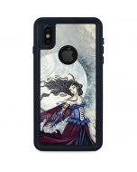 The Moon is Calling Fairy and Dragon iPhone X Waterproof Case