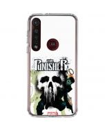 The Punisher Colors Moto G8 Plus Clear Case