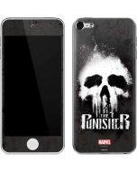 The Punisher White Skull Apple iPod Skin