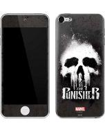The Punisher White Skull Apple iPod Skin