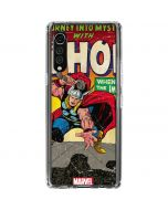 Thor Meets The Immortals LG Velvet Clear Case