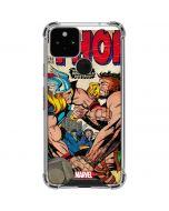 Thor vs Hercules Google Pixel 5 Clear Case