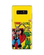 Thor vs Loki Galaxy Note 8 Skin