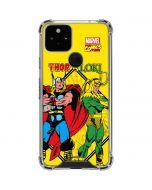 Thor vs Loki Google Pixel 5 Clear Case